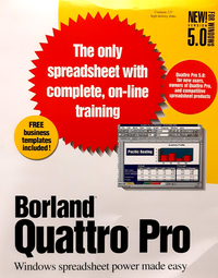 Borland Quattro Pro 5 for Windows