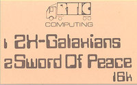 ZX Galaxians / Sword of Peace