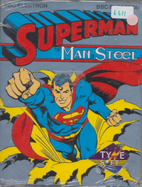 Superman Man OF Steel (Cassette)