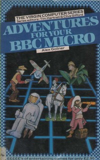 Adventures for your BBC Micro