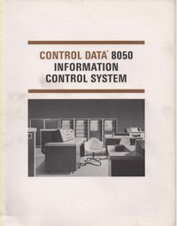Control Data 8050 Information Control System