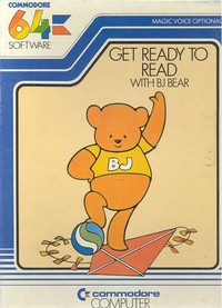 Get Ready to Read with BJ Bear