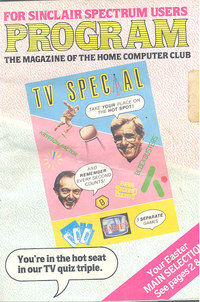 Program - The Magazine of the Home Computer Club