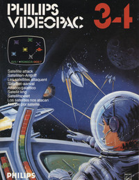 Philips Videopac 34 - Satellite Attack