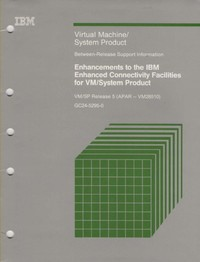 IBM Virtual Machine/System Product Enhanced Connectivity Facilities