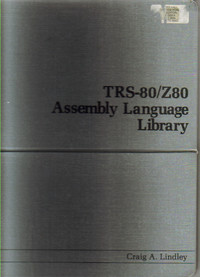 TRS-80/Z80 Assembly Language Library