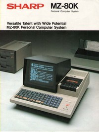 Sharp MZ-80K Personal Computer System