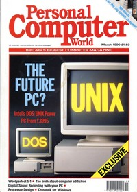 Personal Computer World - March 1990