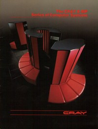 Cray X-MP Computer Systems Brochure (1985)