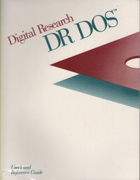 DR DOS User & Reference Guide