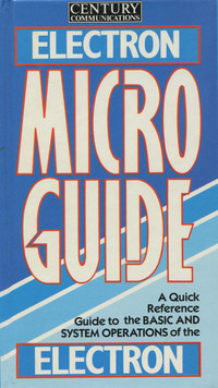 Microguide for the Electron