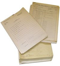 Philips P354 - Operator Sheets