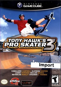 Tony Hawks Pro Skater 3 (US Version)