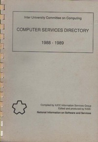Computer services directory 1988-1989