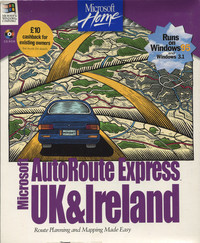 Microsoft AutoRoute Express UK & Ireland