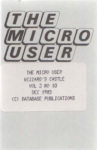 The Micro User Vol. 3, No. 10