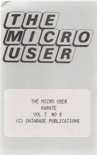 The Micro User Vol. 3, No. 8