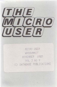 The Micro User Vol. 3, No. 9
