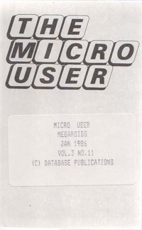 The Micro User Vol. 3, No. 11