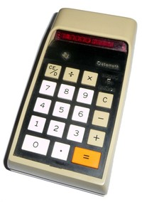 TI-2500 Datamath calculator
