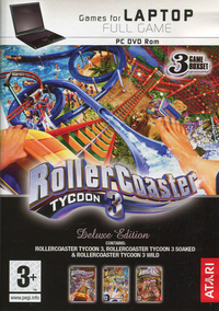 Roller Coaster Tycoon 3 Deluxe Edition (Games for Laptop)