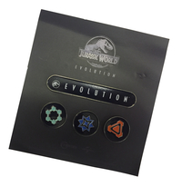 Jurassic World Evolution Pin Badge Set