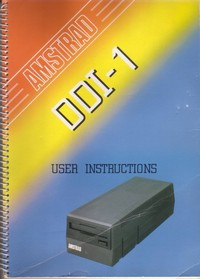 Amstrad DDI-1 User Instructions
