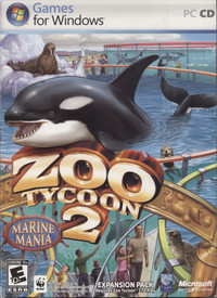 Zoo Tycoon 2: Marine Mania expansion pack