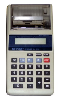 Sharp EL-1611A Electronic Calculator