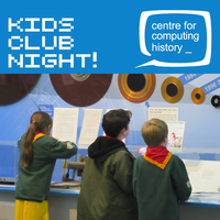 Kids Club Night - Wednesday 3rd April 2019