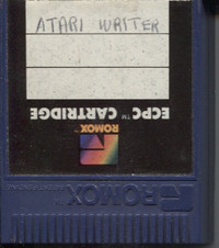 Atari Writer (Romox Cartridge)