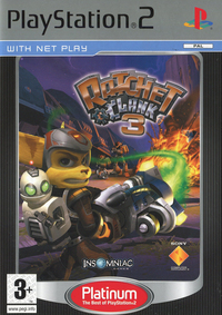 Ratchet & Clank 3 (Platinum)