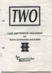 TWO- Task and Window Organiser