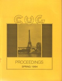 Cray User Group - Proceedings Spring 1984