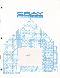 Cray-1 Linear Digital Filters for CFT Usage