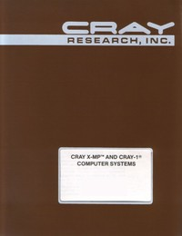 Cray X-MP & Cray-1 - I/O Subsystem (IOS) Operators Guide