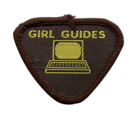 Brownie Guide Computer Badge 1987-1992