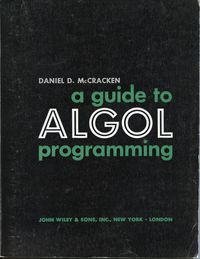 A guide to ALGOL programming