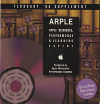 Apple Reference, Performance & Learning Expert. Supplement, February 1995.