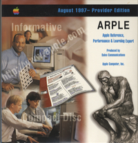 Apple Reference, Performance & Learning Expert. Provider Edition, August 1997.