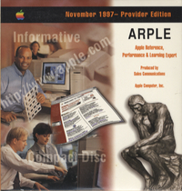 Apple Reference, Performance & Learning Expert. Provider Edition, November 1997.
