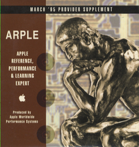 Apple Reference, Performance & Learning Expert. Provider Supplement, March 1995.