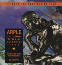 Apple Reference, Performance & Learning Expert. Provider Edition, October 1996.