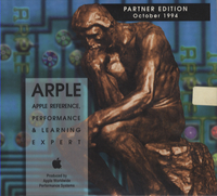 Apple Reference, Performance & Learning Expert. Provider Edition, October 1994.
