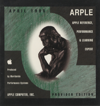 Apple Reference, Performance & Learning Expert. Provider Edition, April 1995. (case only)