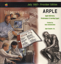 Apple Reference, Performance & Learning Expert. Provider Edition, July 1997.