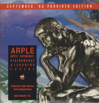 Apple Reference, Performance & Learning Expert. Provider Edition, Sptember 1996.