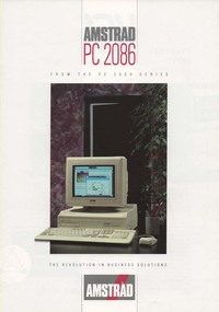 Amstrad PC 2086 Brochure
