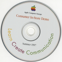 Apple Computer Europe — Consumer In-store Demo — Spring 1997
