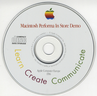 Apple Computer Europe — Macintosh Performa In-store Demo